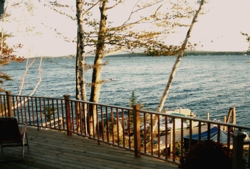 Island Cottage Deck