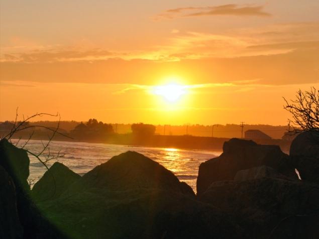 change season sunset w