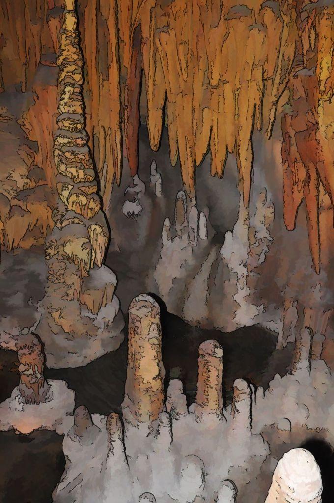 Inside cave AZ 1