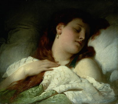 Sleeping Woman by Sandor Liezen-Meyer