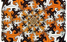 Escher tesselation
