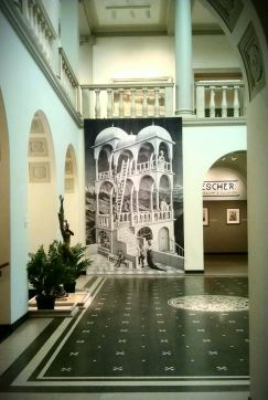 MC Escher at Currier Museum