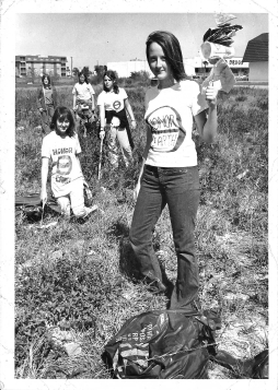 1970 First Earth Day news