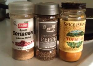 Spice trio
