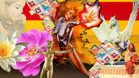 Intuitive Collage by CSRoth